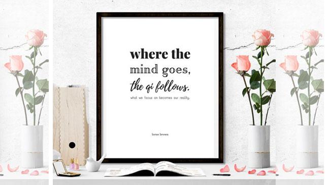 Afbeelding bij blog van Yvonne Alefs - Qi follows the mind