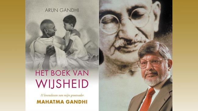 Het boek van wijsheid - Arun Ghandi - uitgelichte afbeelding - Yvonne Alefs
