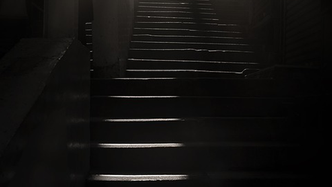 Stapstenen in het donker - Uitgelichte afbeelding Yvonne Alefs