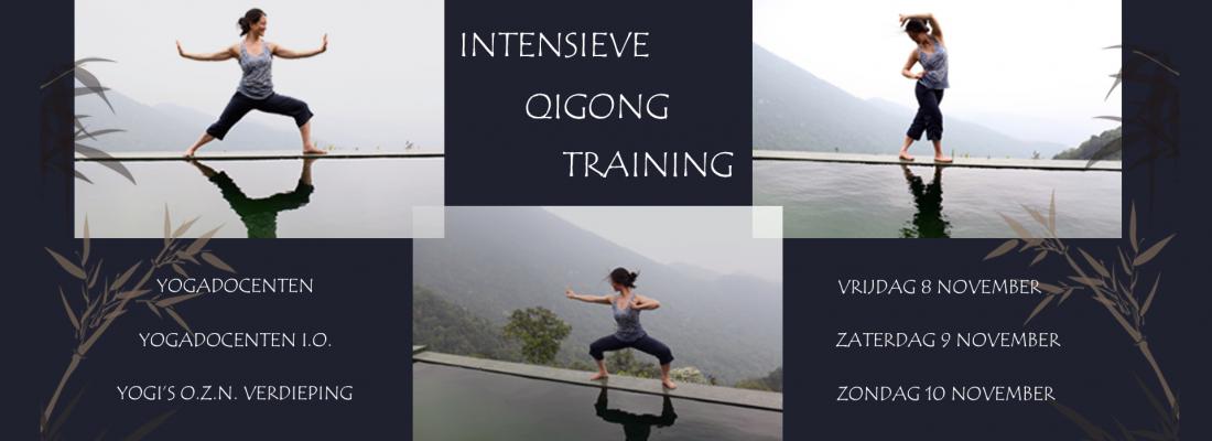 Intensieve Qigong Training - Mimi Kuo Deemer - Banner Yvonne Alefs