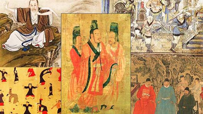 Mawangdui Daoyin Shu - Van Daoyin naar Qigong - Uitgelichte afbeelding Yvonne Alefs