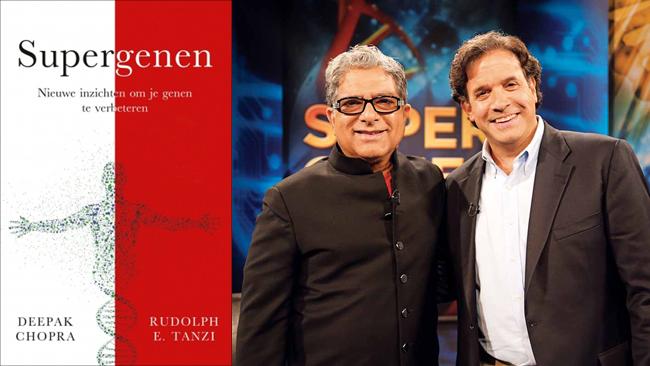 Supergenen - Nieuwe inzichten om je genen te verbeteren - Deepak Chopra en Rudolph E. Tanzi - Boekrecensie Yvonne Alefs